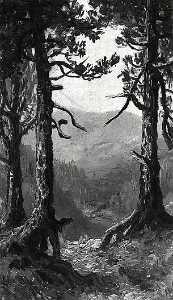 Adirondack Landscape, (painting)