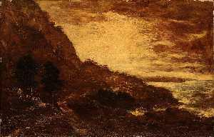 Sunset, Navarro Ridge, California Coast