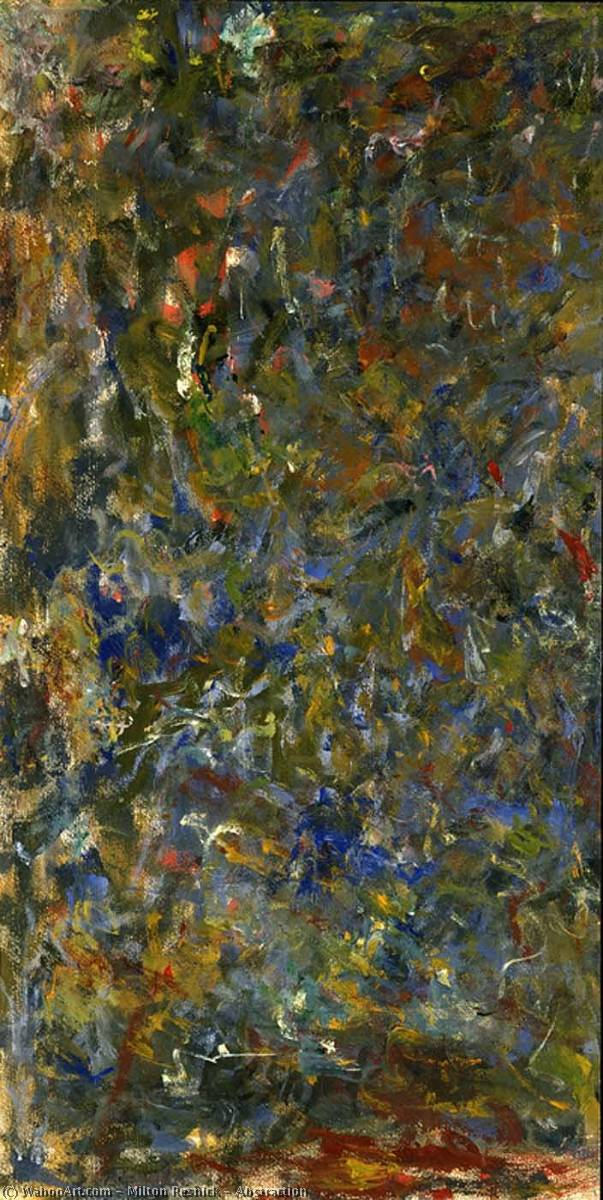 Wikioo.org - The Encyclopedia of Fine Arts - Painting, Artwork by Milton Resnick - Abstraction