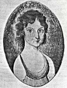 Sarah K. Padleford (B. 1785), (painting)
