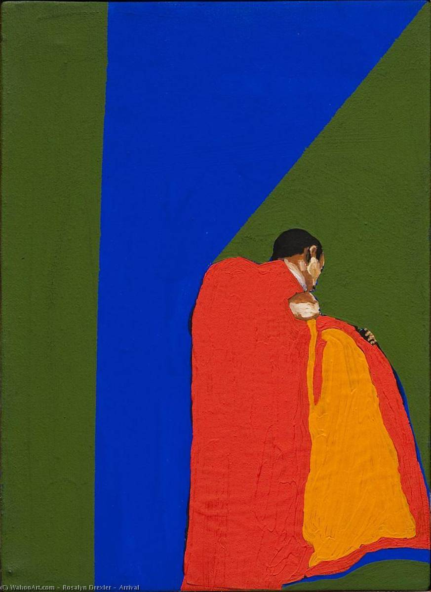 Wikioo.org - The Encyclopedia of Fine Arts - Painting, Artwork by Rosalyn Drexler - Arrival