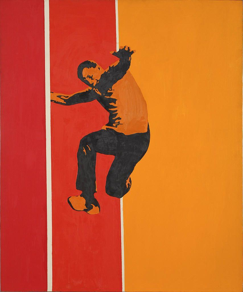 Wikioo.org - The Encyclopedia of Fine Arts - Painting, Artwork by Rosalyn Drexler - Race for Time