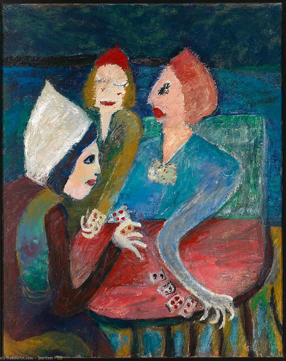 Wikioo.org - The Encyclopedia of Fine Arts - Painting, Artwork by Jon Serl - Liz
