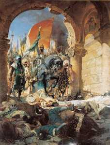 Entrée du sultan Mehmet II à Constantinople le 29 mai 1453 Entrée de Mahomet II à Constantinople (Ancien titre)