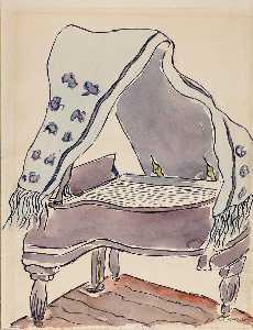 Lavender Piano