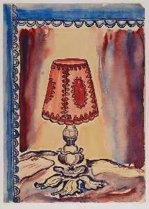 Lamp in Window