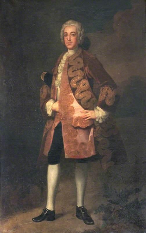 Wikioo.org - The Encyclopedia of Fine Arts - Painting, Artwork by Isaac Seeman - John Pennant (d.1781)