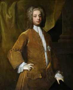 Portrait of a Gentleman (possibly Philip Howard of Buckenham, Norfolk, d.1750)