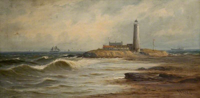 Wikioo.org - The Encyclopedia of Fine Arts - Painting, Artwork by John Davison Liddell - St Mary's Island