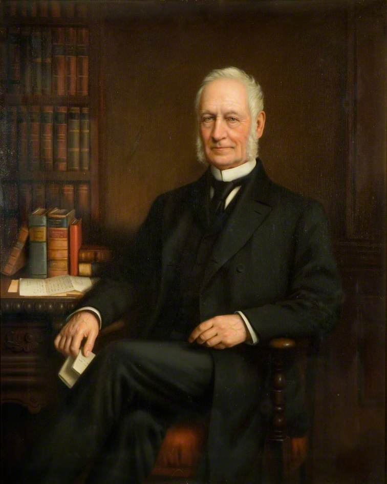 Wikioo.org - The Encyclopedia of Fine Arts - Painting, Artwork by Joseph Gibbs - Sir James Timmins Chance