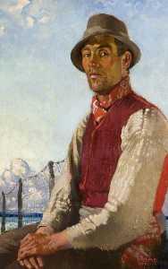 A Lough Neagh Fisherman