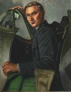 Squadron Leader J. A. Leathart, DSO, No.54 Squadron