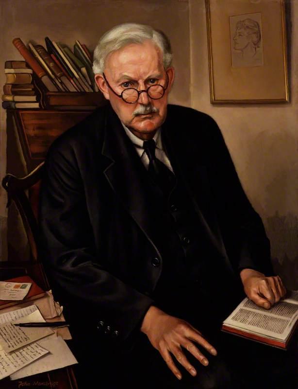 Wikioo.org - The Encyclopedia of Fine Arts - Painting, Artwork by John Mansbridge - Albert Mansbridge