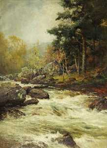 Adown the Vale, Broken by Stones, and O'er a Stony Bed, Rolled the Grey Mountain Stream