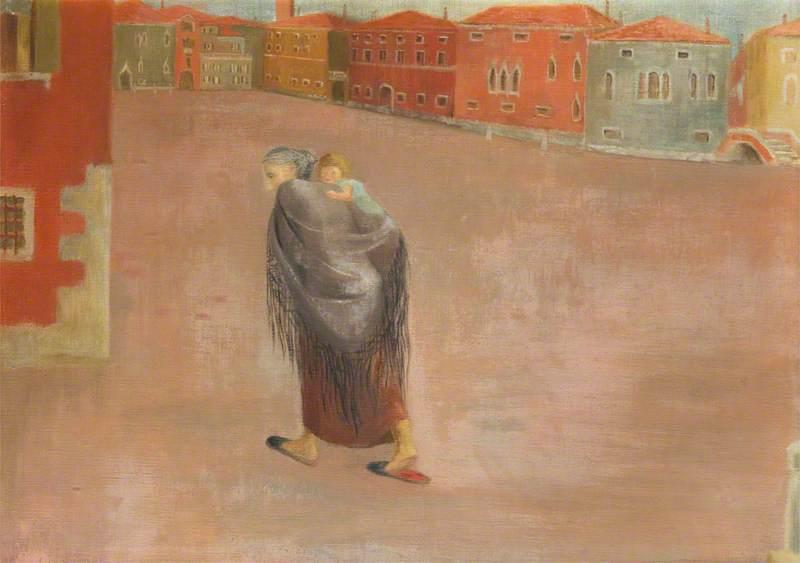 WikiOO.org - Enciclopedia of Fine Arts - Pictura, lucrări de artă Victorine Anne Foot - Woman with a Shawl