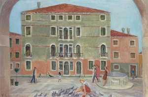 Piazza San Barnabas, Venice