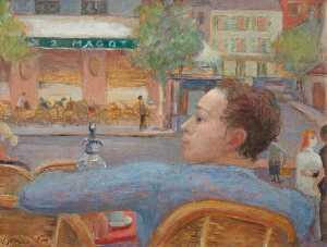'Les Deux Magots', Saint Germain des Près