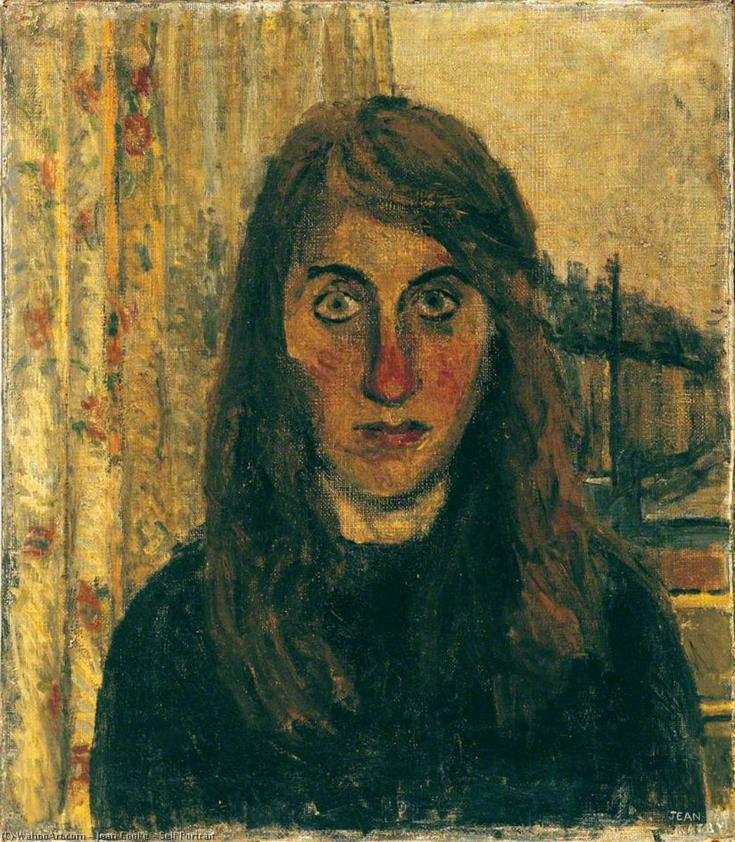 Wikioo.org - The Encyclopedia of Fine Arts - Painting, Artwork by Jean Cooke - Self Portrait