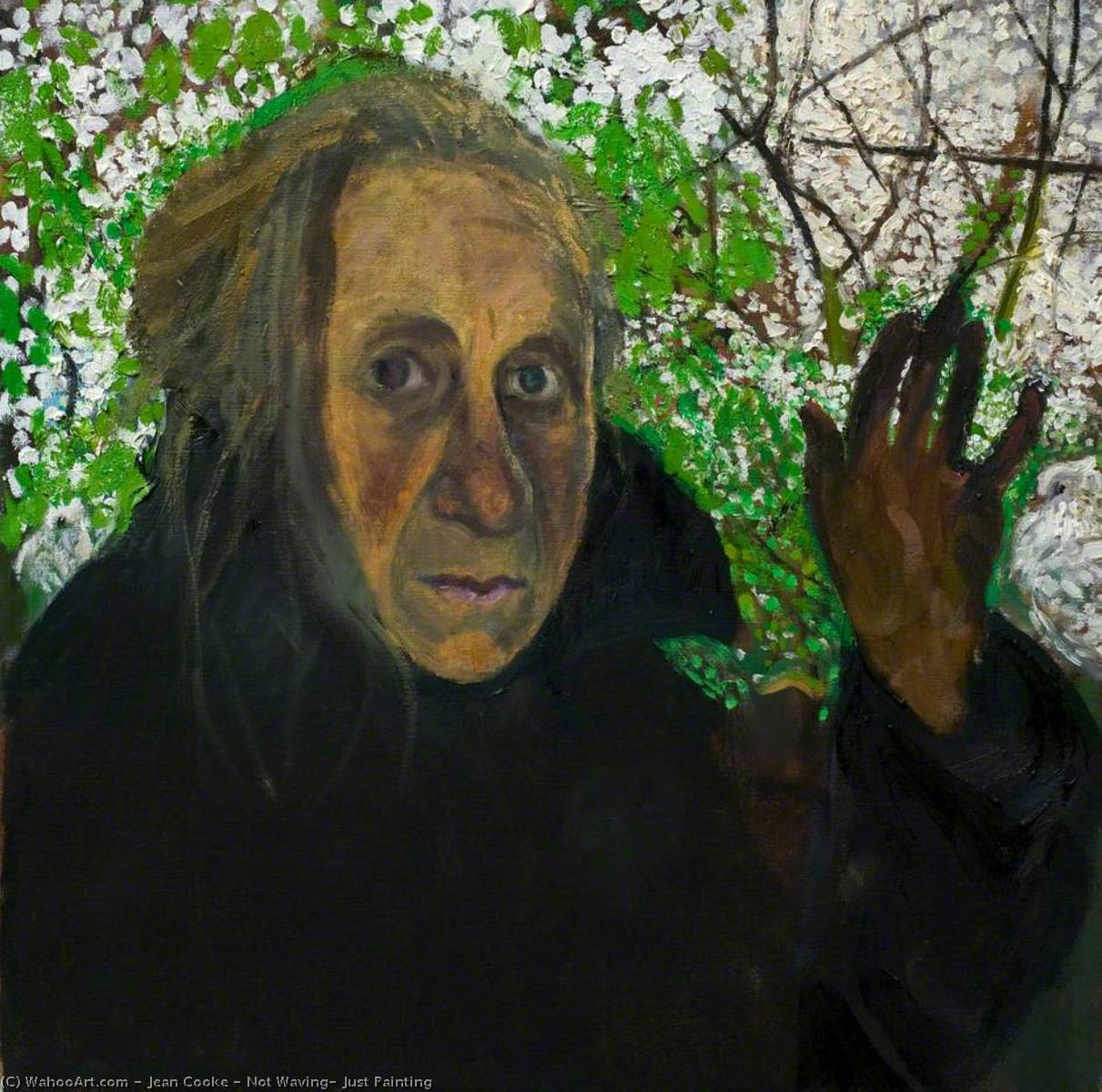 Wikioo.org - The Encyclopedia of Fine Arts - Painting, Artwork by Jean Cooke - Not Waving, Just Painting