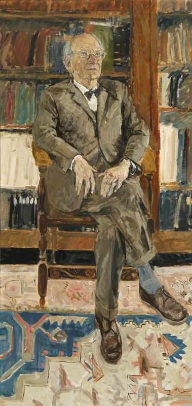 Wikioo.org - The Encyclopedia of Fine Arts - Painting, Artwork by Jean Cooke - Egon Joseph Wellesz (1885–1974), Fellow (1938–1960)