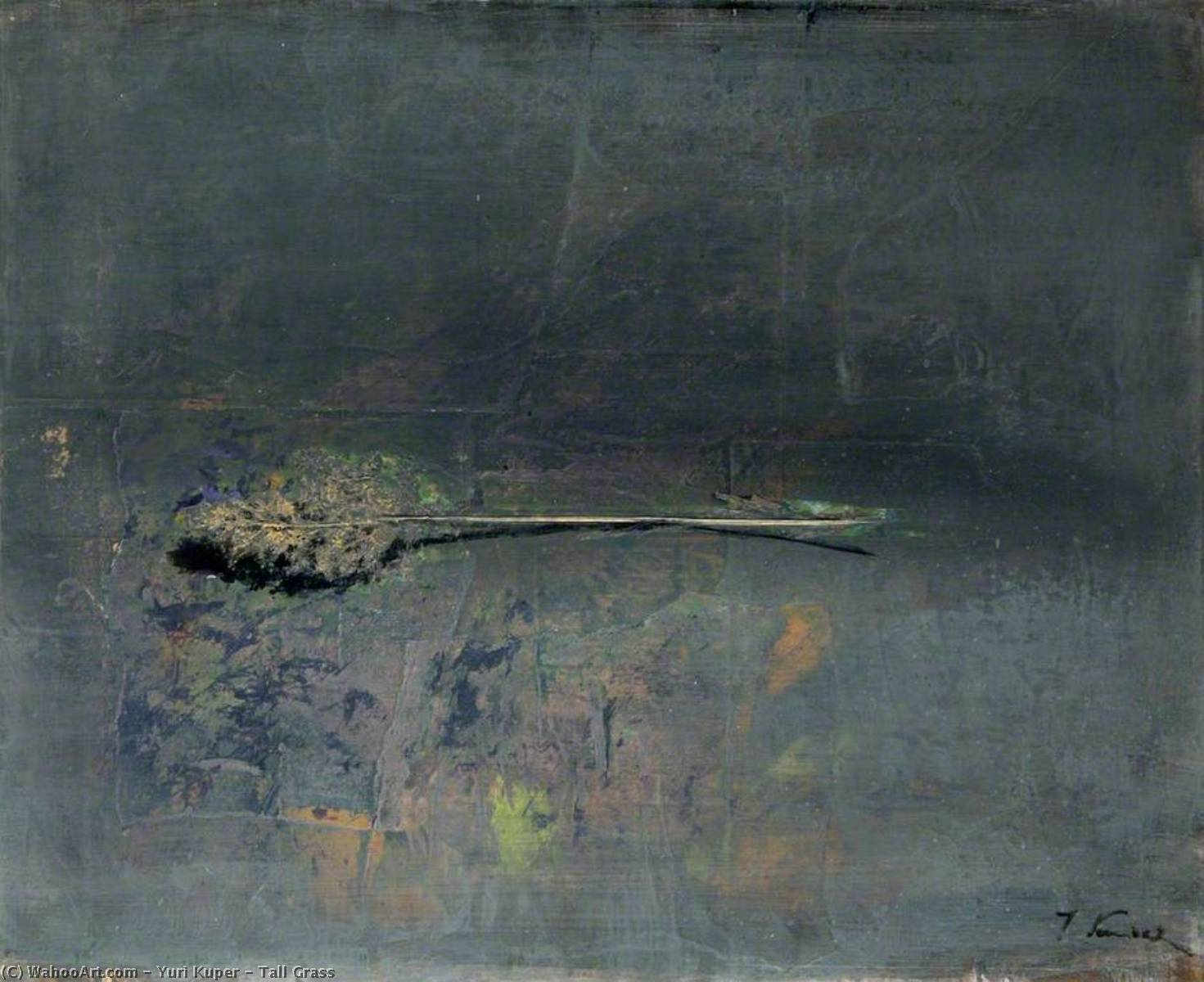 Wikioo.org - The Encyclopedia of Fine Arts - Painting, Artwork by Yuri Kuper - Tall Grass