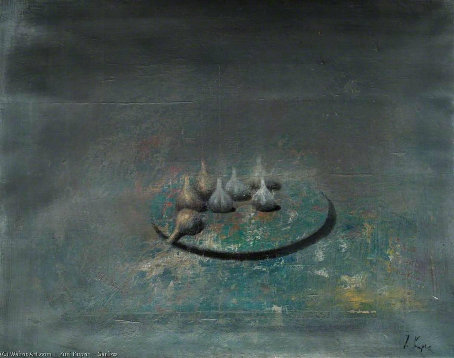 Wikioo.org - The Encyclopedia of Fine Arts - Painting, Artwork by Yuri Kuper - Garlics