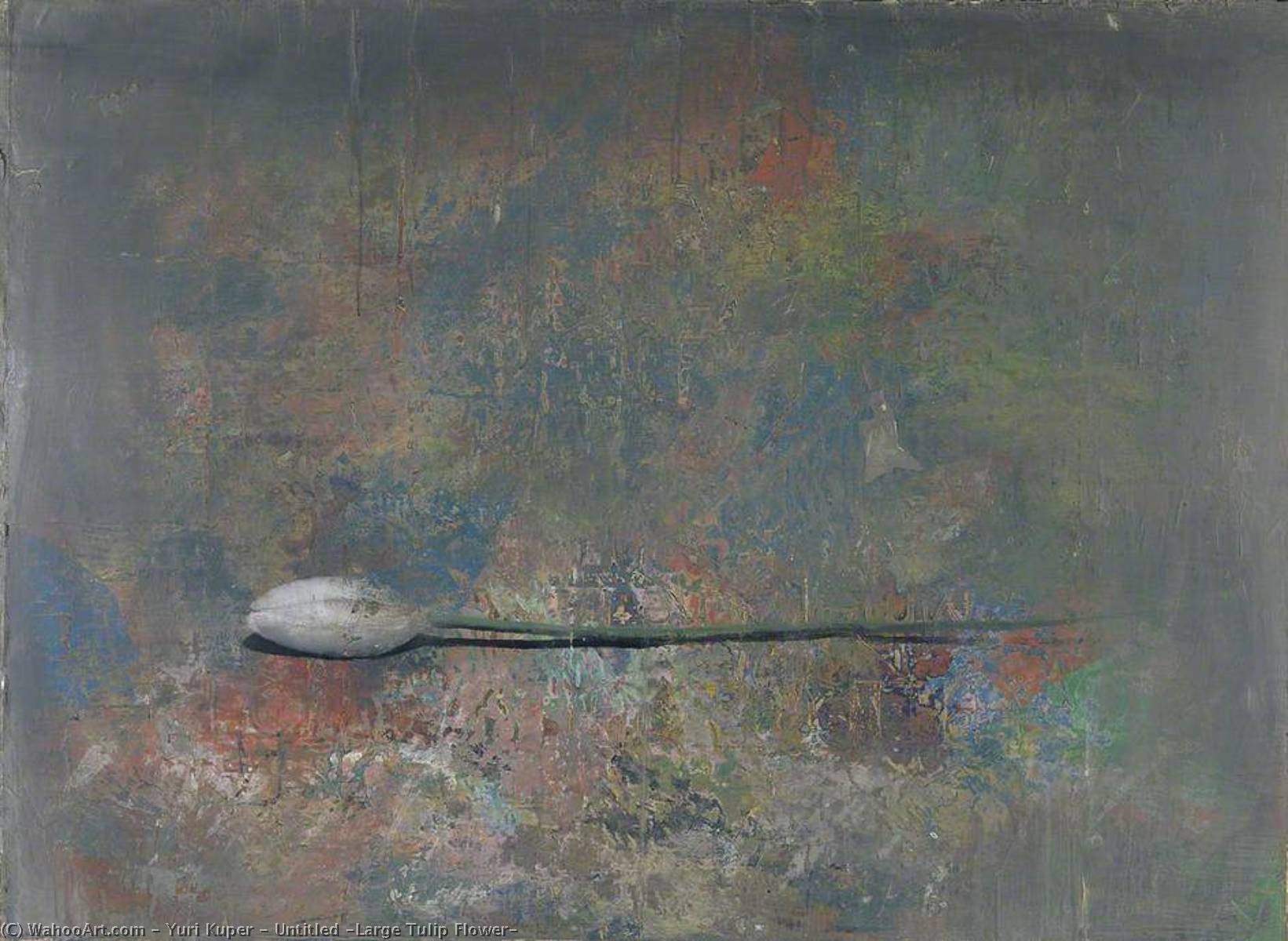 Wikioo.org - The Encyclopedia of Fine Arts - Painting, Artwork by Yuri Kuper - Untitled (Large Tulip Flower)