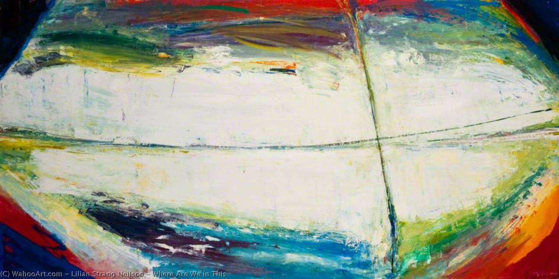 Wikioo.org - The Encyclopedia of Fine Arts - Painting, Artwork by Lilian Strang Neilson - Where Are We in This