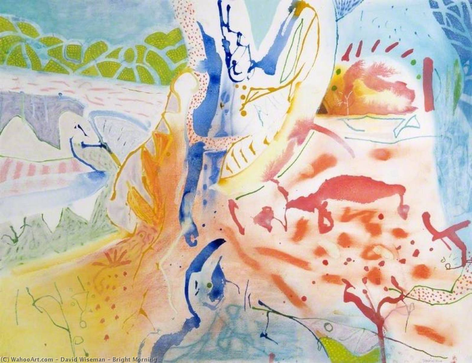 Wikioo.org - The Encyclopedia of Fine Arts - Painting, Artwork by David Wiseman - Bright Morning