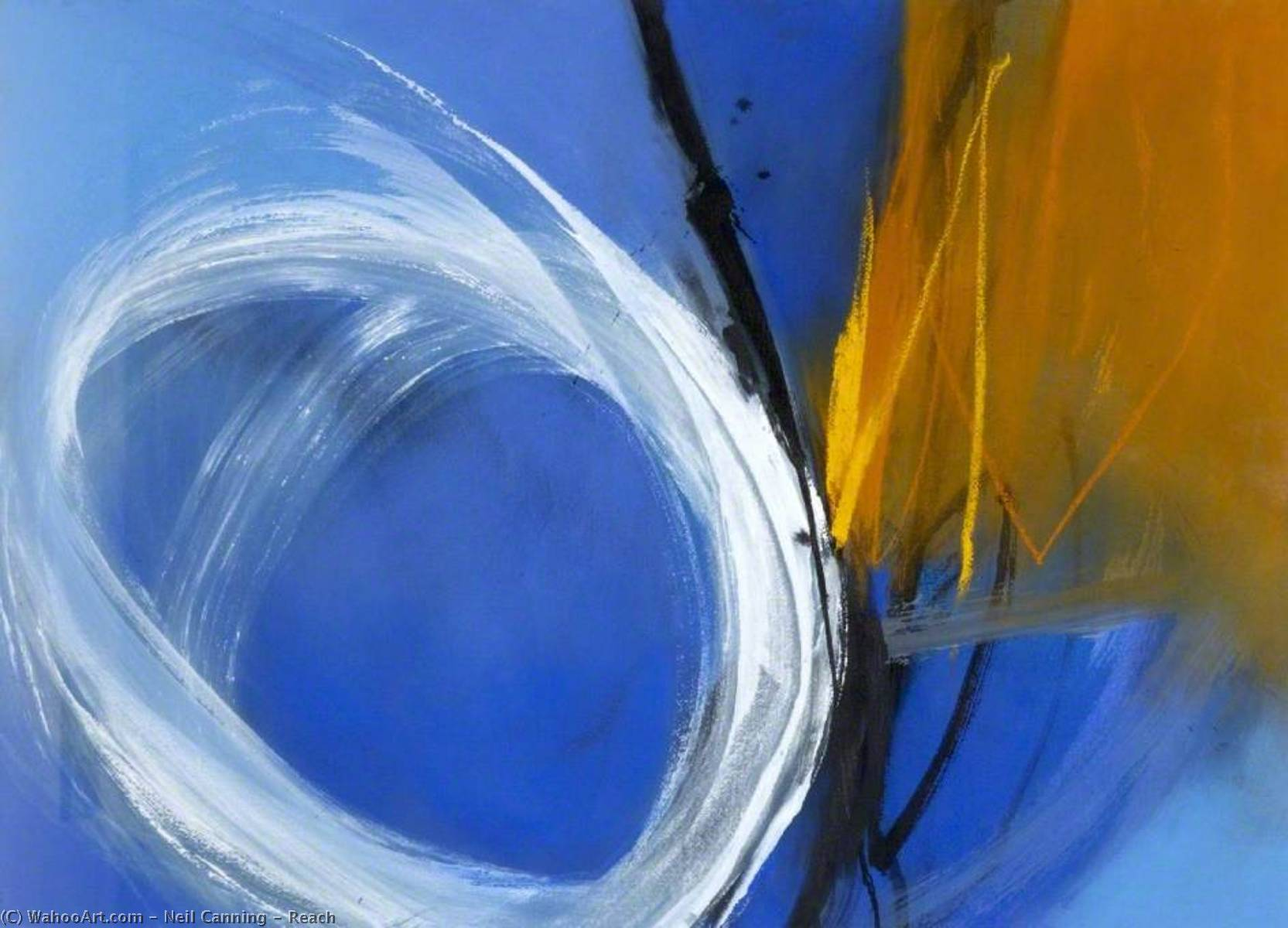 Wikioo.org - The Encyclopedia of Fine Arts - Painting, Artwork by Neil Canning - Reach