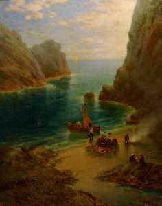 Landing of the Treasure