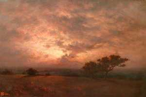 Stormy Sunset, New Forest
