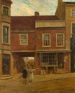 A View of Seabrook's House, Market Hill, Luton, Bedfordshire