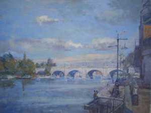 Kingston Bridge from Charter Quay
