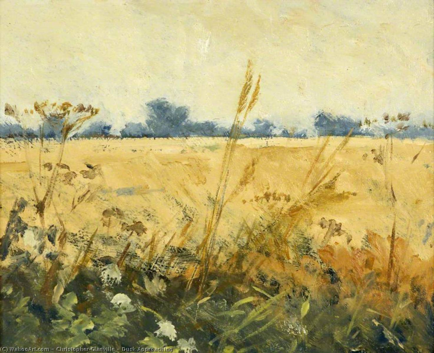 Wikioo.org - The Encyclopedia of Fine Arts - Painting, Artwork by Christopher Glanville - Dusk Approaching