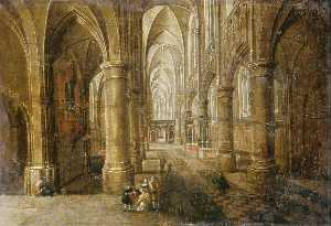 Interior of an Imaginary Cathedral