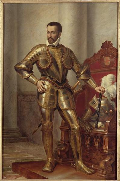 Wikioo.org - The Encyclopedia of Fine Arts - Painting, Artwork by Dejuinne François Louis - FRANCOIS, DUC DE MONTMORENCY, MARECHAL DE FRANCE ( 1579)