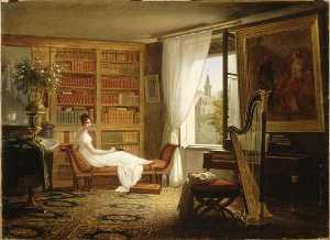 La chambre de Madame Récamier à l'Abbaye aux Bois