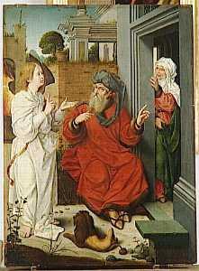 ABRAHAM, SARA ET L'ANGE
