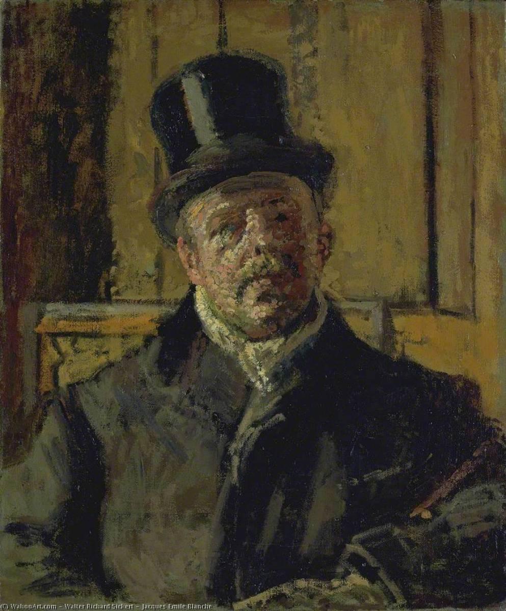 WikiOO.org - Enciclopedia of Fine Arts - Pictura, lucrări de artă Walter Richard Sickert - Jacques Emile Blanche