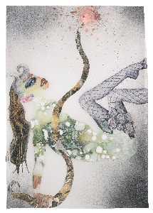 Untitled (Female in Fishnet)