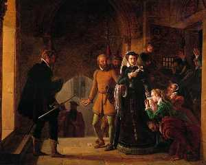 Mary, Queen of Scots, Separated from Her Faithfuls