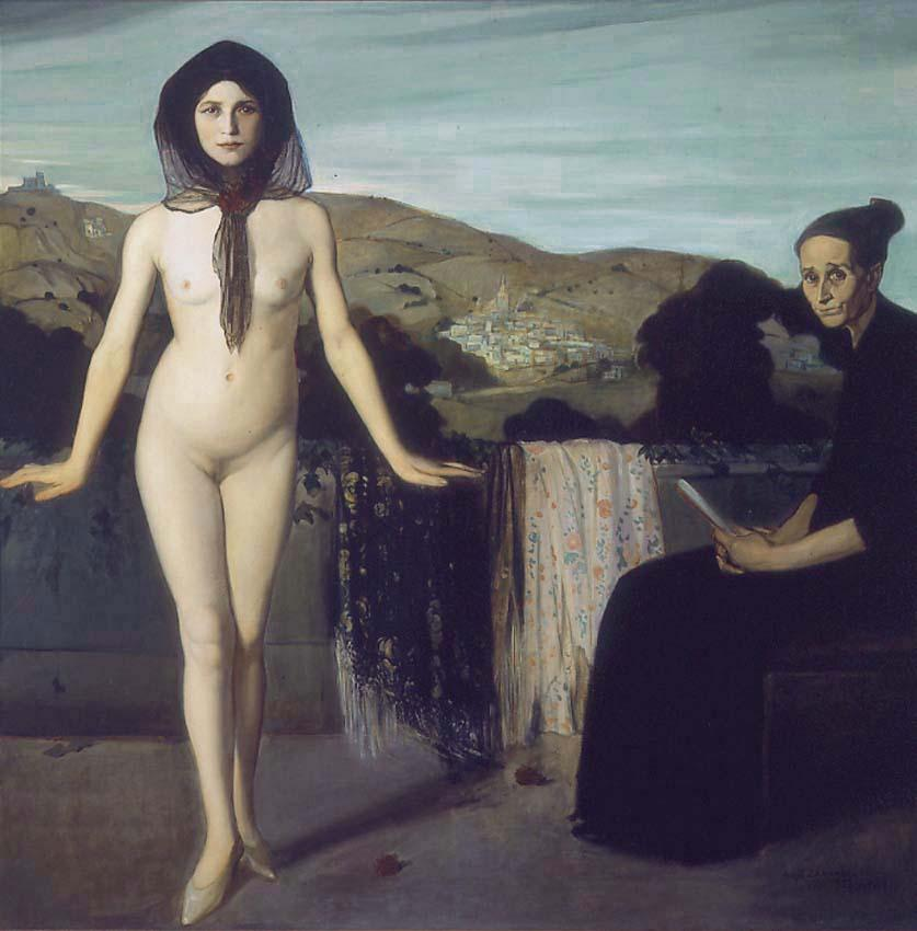 Wikioo.org - The Encyclopedia of Fine Arts - Painting, Artwork by Angel Zarraga -