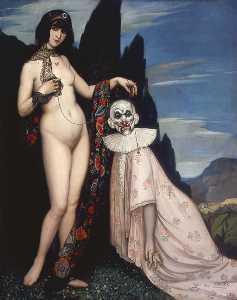 French La femme et le pantin