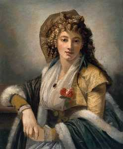 Anna Maria Ferri, the Artist's First Wife