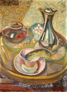 Still Life with Coffee Pot (recto)