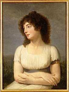 LAURE DE GUESNON DE BONNEUIL, MADAME REGNAULT DE SAINT JEAN D'ANGELY (1776 1856)