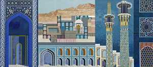 Fantasy on Islamic Architecture (diptych, right panel)