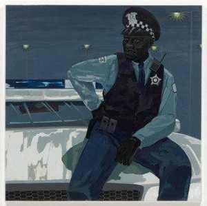 Untitled (policeman)