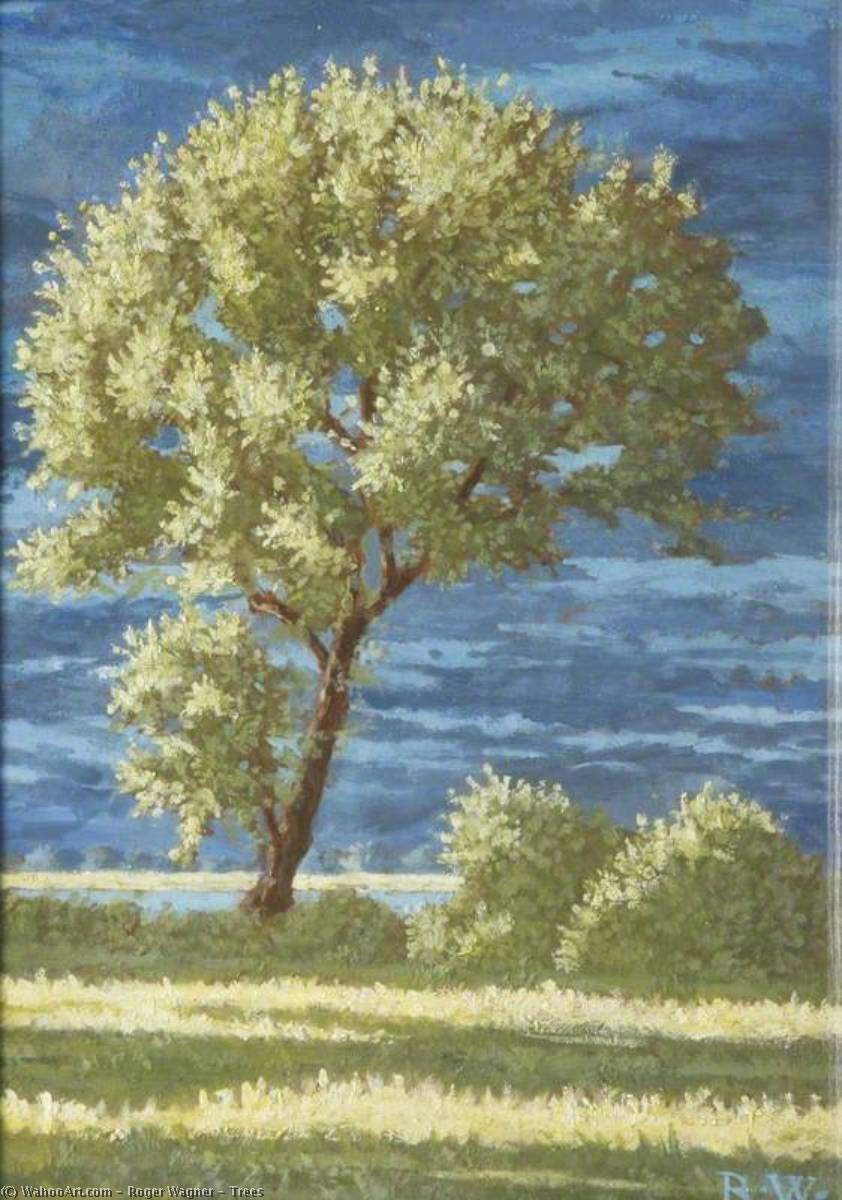 Wikioo.org - The Encyclopedia of Fine Arts - Painting, Artwork by Roger Wagner - Trees